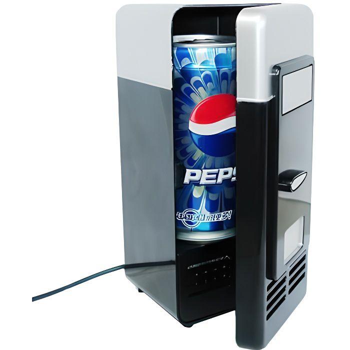 Mini-frigo gadget Usb pour canette (noir)