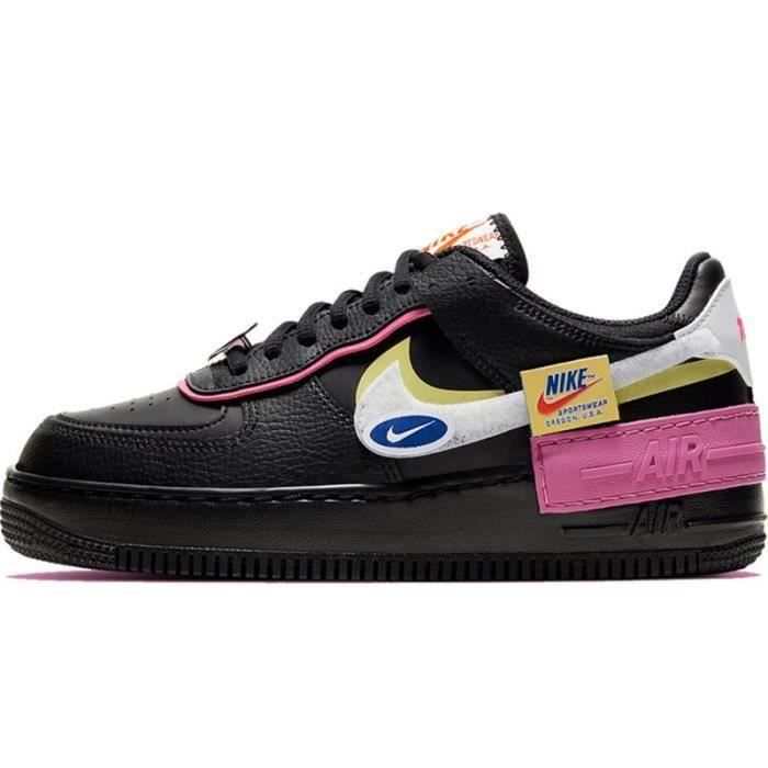 Basket Air Force 1 Shadow Air Force One AF 1 Low Chaussures de Running Femme CU4743-1001
