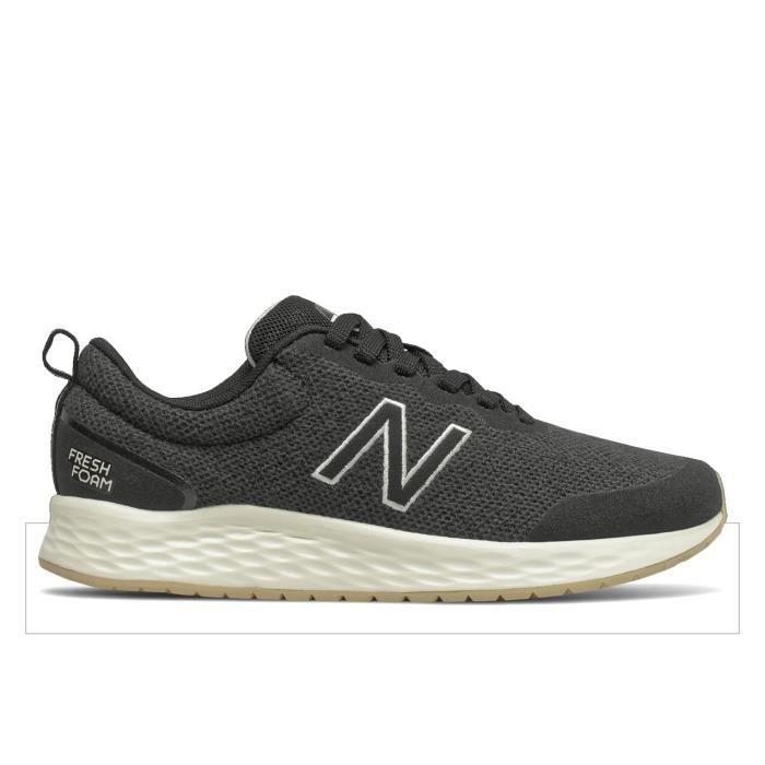 Chaussures de running femme New Balance fresh foam arishi v3 - black/phantom/angora - 40,5