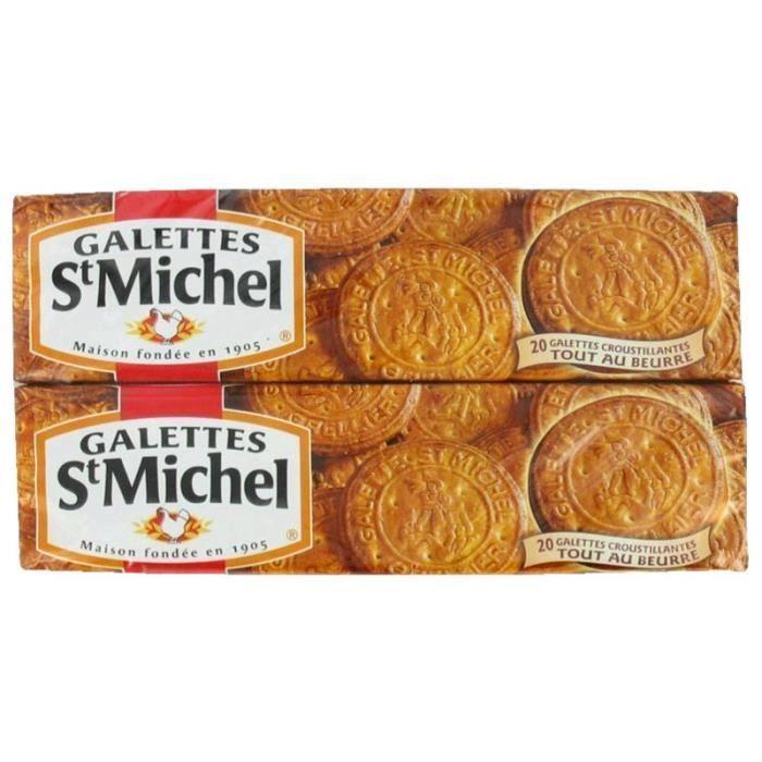 ST MICHEL Galettes au Beurre - 2 x 130 g