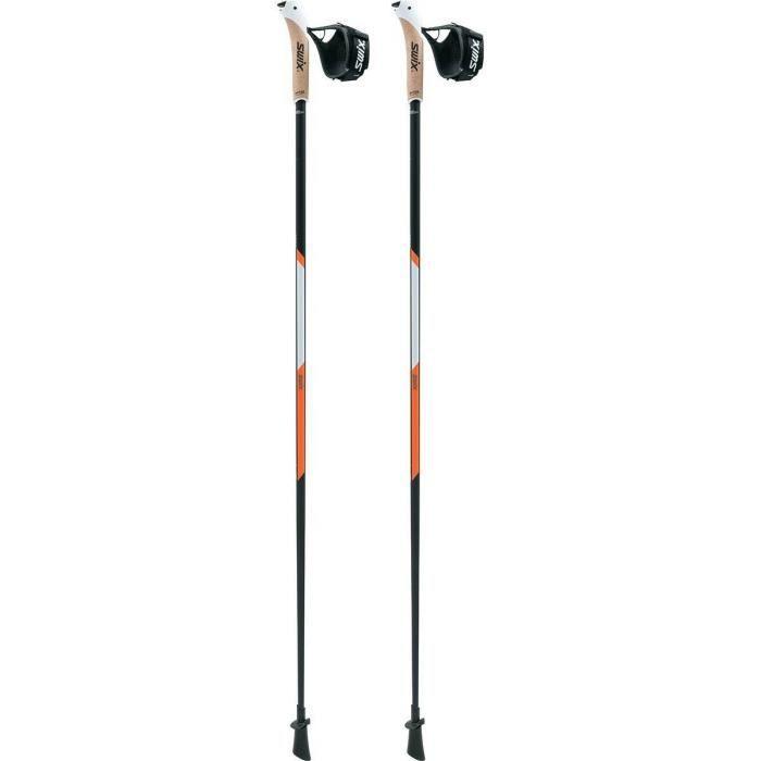 Bâtons Swix CT3 PCC T&Go - noir - 115 cm