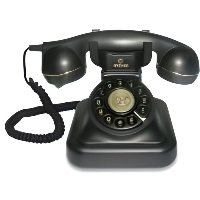 Téléphone Vintage 20 - noir