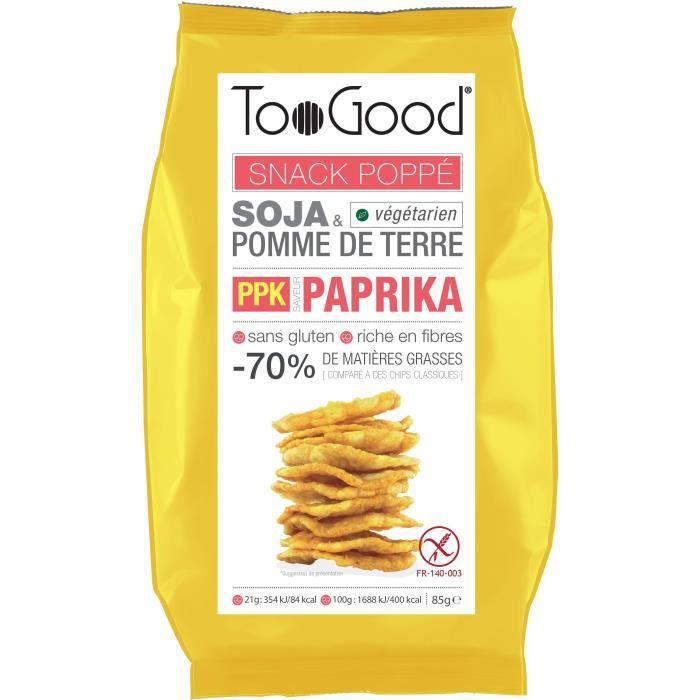Snack poppé saveur paprika 85 g TooGood