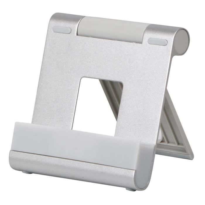 TRIXES Support en Aluminium Réglable Pliable pour iPhones iPads Android Smartphones Windows