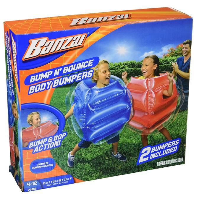 Banzai Bump N Bounce Body Bumpers gonflable pour enfants Garden Ball