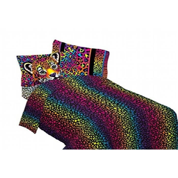 Bed Sheet Set Wild Side Leopard Print Bedding Accessories ZOO9A