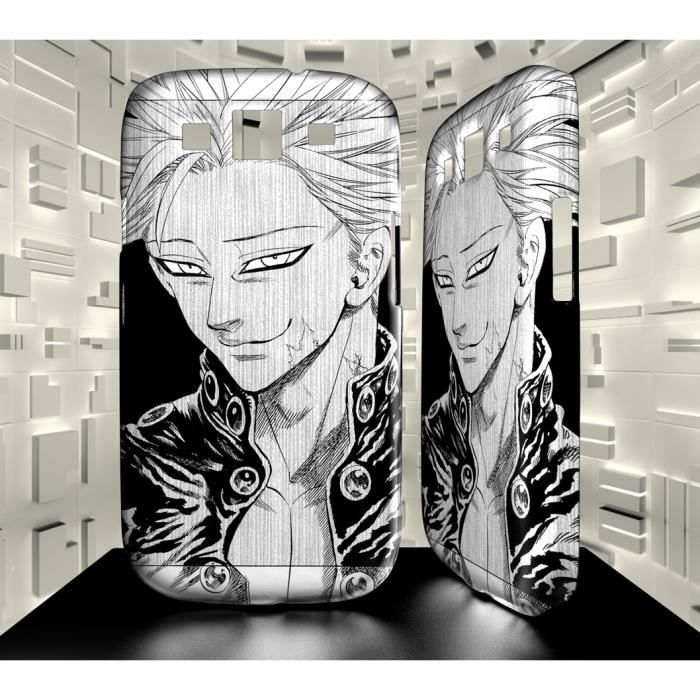Coque Personnalisée Samsung Galaxy S3 manga SEVEN DEADLY SINS