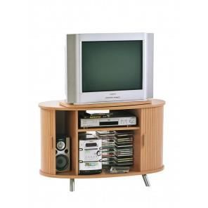 meuble tv hifi plateau pivotant h tre et merisi achat. Black Bedroom Furniture Sets. Home Design Ideas