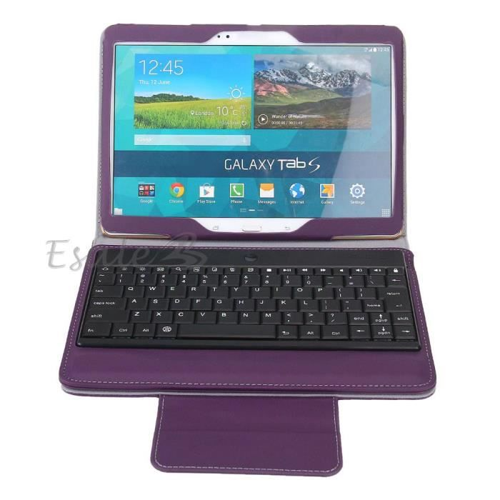clavier bluetooth amovible housse pour samsung galaxy tabs. Black Bedroom Furniture Sets. Home Design Ideas