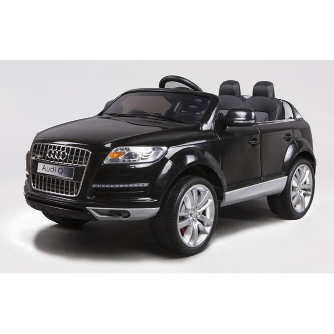 audi q7 noir m tallis e 1 place voiture lectrique enfant 12v7ah 2 moteurs achat vente. Black Bedroom Furniture Sets. Home Design Ideas