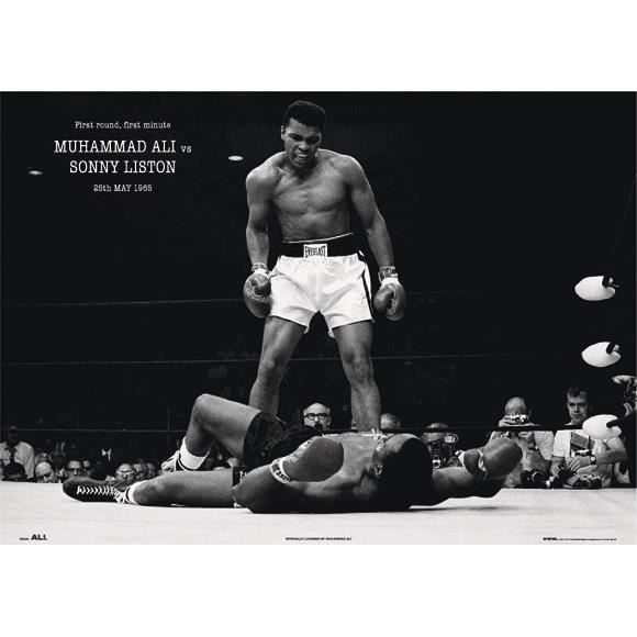 poster xxl mohamed ali achat vente affiche poster cdiscount. Black Bedroom Furniture Sets. Home Design Ideas