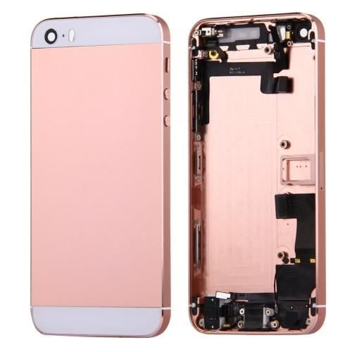 coque arri re chassis iphone 5s complet rose gold achat pi ce t l phone pas cher avis et. Black Bedroom Furniture Sets. Home Design Ideas