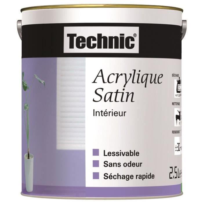 Peinture Acrylique Satin Blanc Cassé 2 5 L Achat