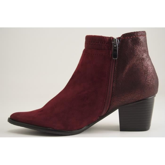 MADISON BY KARSTON-AYAM-BOOTS-BORDEAUX