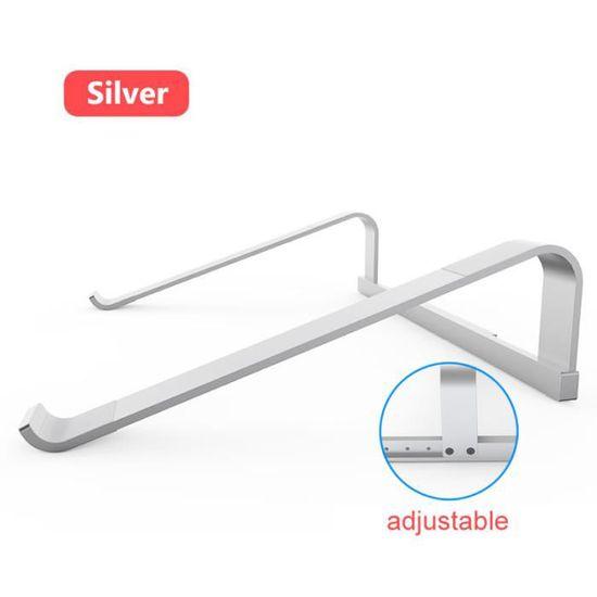 Support de Bureau Portable Pliable Ergonomique TIEMORE Support dordinateur Portable Plastiques ABS r/églables pour Ordinateur Portable 11-17 Pouces
