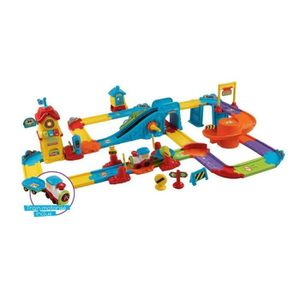 TCHOU TCHOU BOLIDES Mon Circuit Train Interactif