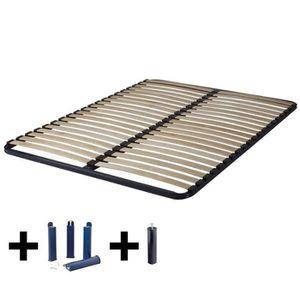 SOMMIER Altolattes - Pack Sommier 2x20 Lattes 130x190cm +
