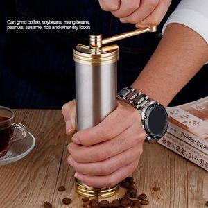 COMBINÉ EXPRESSO CAFETIÈRE Broyeur grains entiers manuel machine café ménage