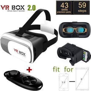 LUNETTES 3D Virtual Reality Box 2.0 Version VR Virtual lunette
