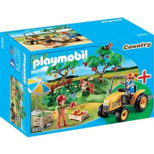 UNIVERS MINIATURE PLAYMOBIL 6870 Starter Set Couple de Fermiers + Vé
