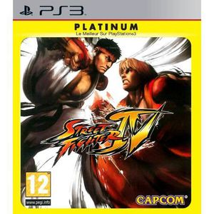 JEU PS3 Street Fighter IV - PS3 [PLATINIUM]