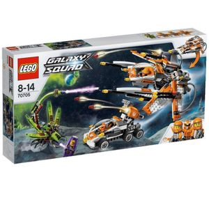 ASSEMBLAGE CONSTRUCTION LEGO Galaxy squad 70705 Le vaisseau insecticide