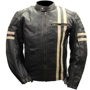 BLOUSON - VESTE Blouson moto cuir vintage GENESYS
