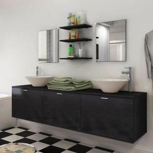 SALLE DE BAIN COMPLETE 8 pièces de mobilier de salle de bain et lavabo No