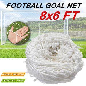 CAGE DE FOOTBALL 2.4x1.8m Filet de Football Sport Exercice Formatio