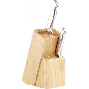 BLOC COUTEAU - MALLETTE Bloc pour couteaux en bois