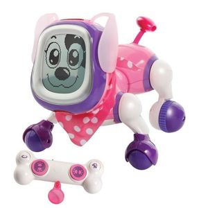 ANIMAL VIRTUEL VTECH - Kididoggy rose - chien intéractif