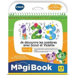 CONSOLE ÉDUCATIVE VTECH - Livre Interactif Magibook - Je Découvre Le