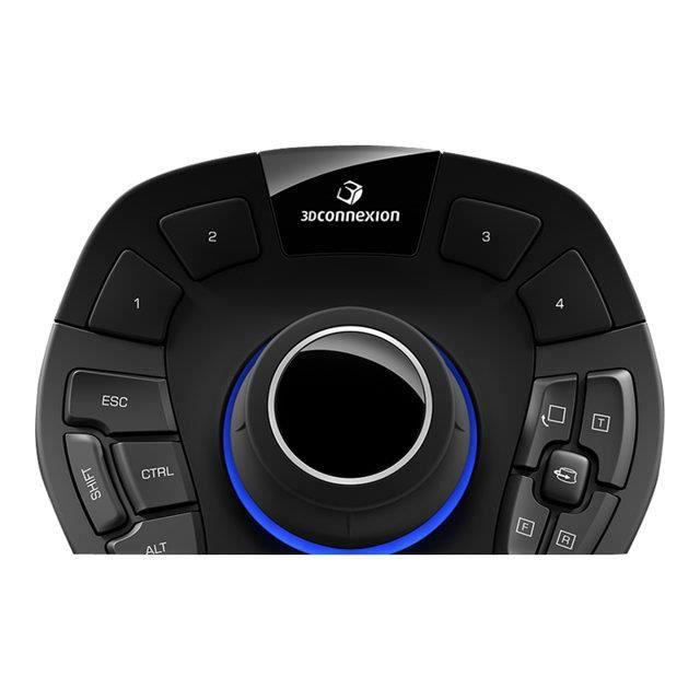 3D CONNEXION Souris SpaceMouse Pro - 15 boutons - Filaire