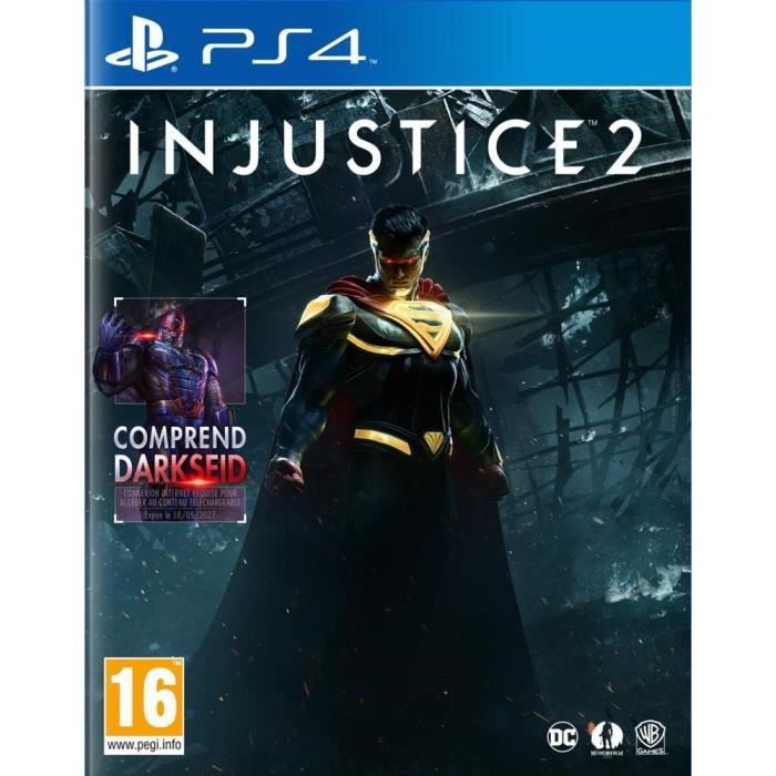 injustice 2 jeu ps4 achat vente jeu ps4 nouveaut injustice 2 jeu ps4 cdiscount. Black Bedroom Furniture Sets. Home Design Ideas