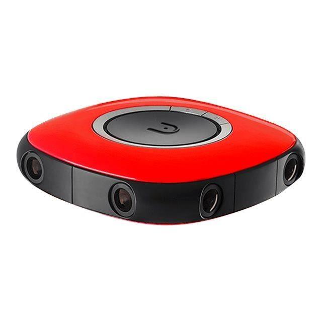 Vuze VR Camera 360° caméra de poche fixable 3D 4K - 30 pi-s Wi-Fi rouge