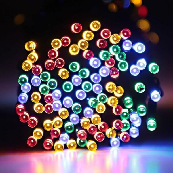 BANDE LED - RUBAN LED 200 LED d'extérieur Guirlande Solaire Party Powered Lampe 22M MR_u208 Jeffrey 524 zl