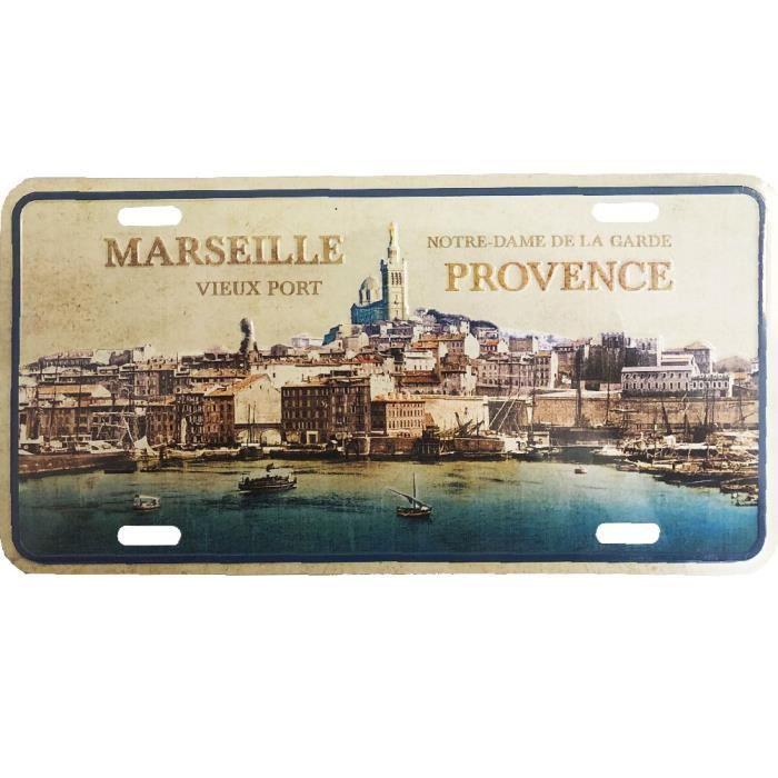 Plaque decorative metallique Marseille