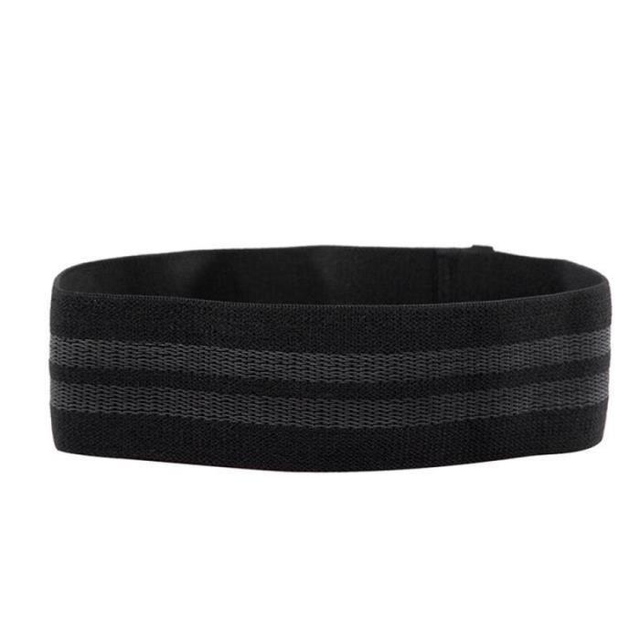 Bandes de résistance de Yoga bande élastique de hanche-cou bande de résistance Squat Yoga Fitness - Modèle: black L - HSJSTLDC02941