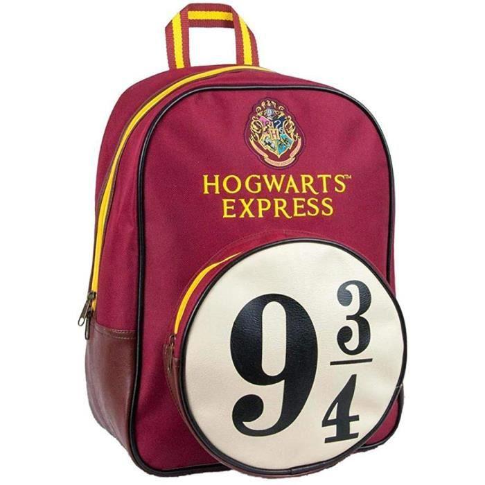 CARTABLEy Sac agrave dos Harry Potter Poudlard Express 9 et 34 rouge taille M360