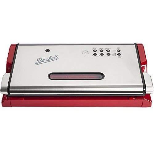 Machine à vide Berkel, 130W, 70 décibels, polymère technique, rouge