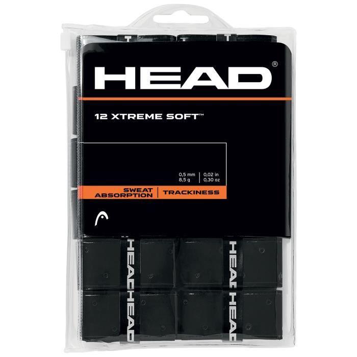 Surgrips Head Extreme Soft Noir x 12
