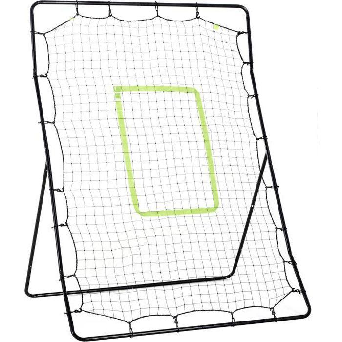 Filet de rebond de baseball 122L x 95l x 172H cm cible et sardines de fixation fournies noir vert 122x95x172cm Noir