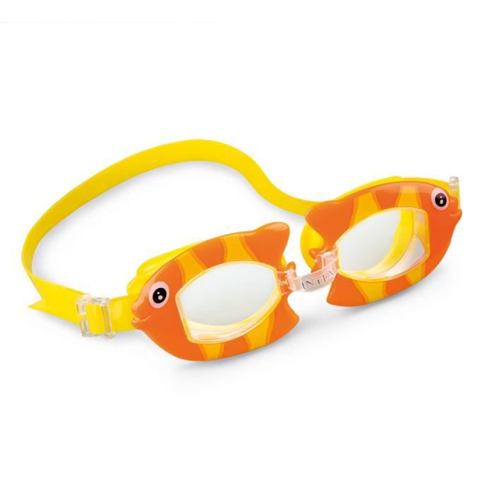 Lunettes de plongée enfant Intex Fun Orange