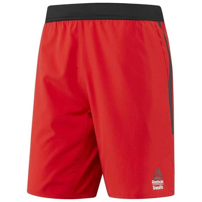 Reebok - Reebok RCF SN Speed II Homme Shorts Rouge
