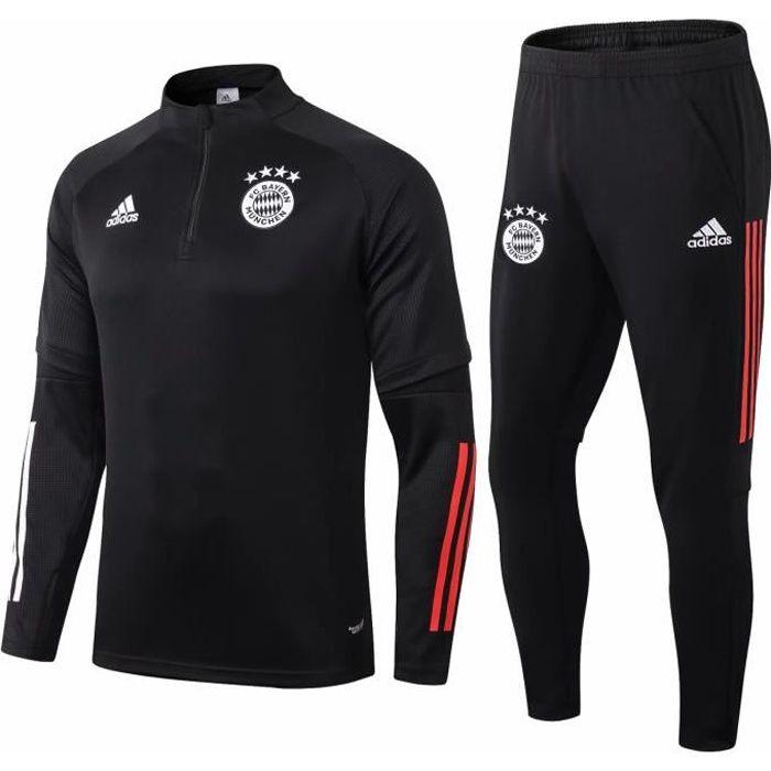 Nouveau Bayern Munich Survêtement Maillot de Foot Survet Kit 2020 2021 Pas Cher pour Homme