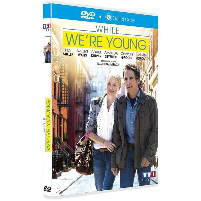 DVD WHILE WE RE YOUNG