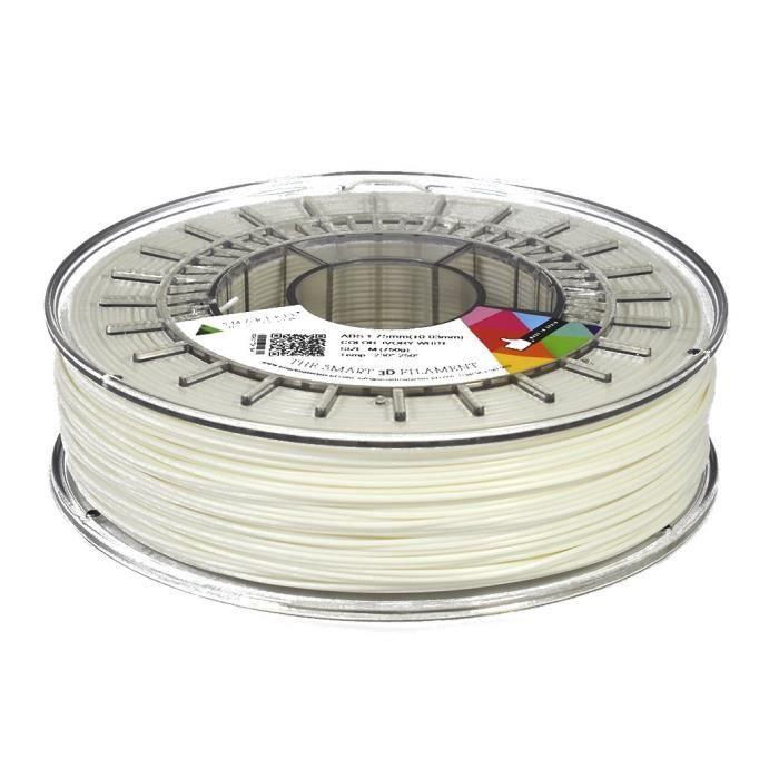 Smartfil Filament Abs 1.75mm Blanc 750g