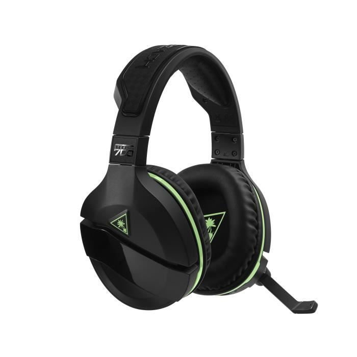 TURTLE BEACH Casque gamer Stealth 700 - Sans fil - DTS Suround - Superhuman hearing™ - Noir et vert - XBOX ONE
