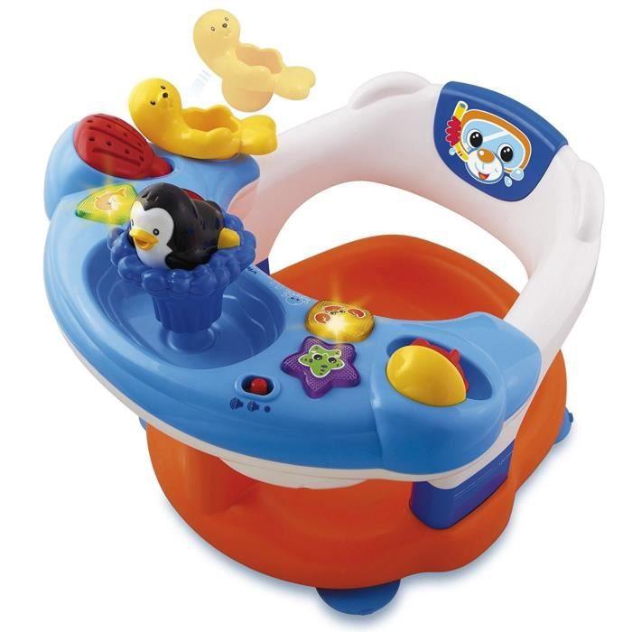 VTECH BABY - Jouet de Bain - Siège de bain interactif 2 en 1