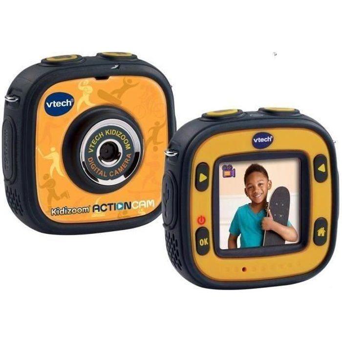 VTECH - Kidizoom Action Cam - Caméra Tout Terrain Enfant + Accessoires